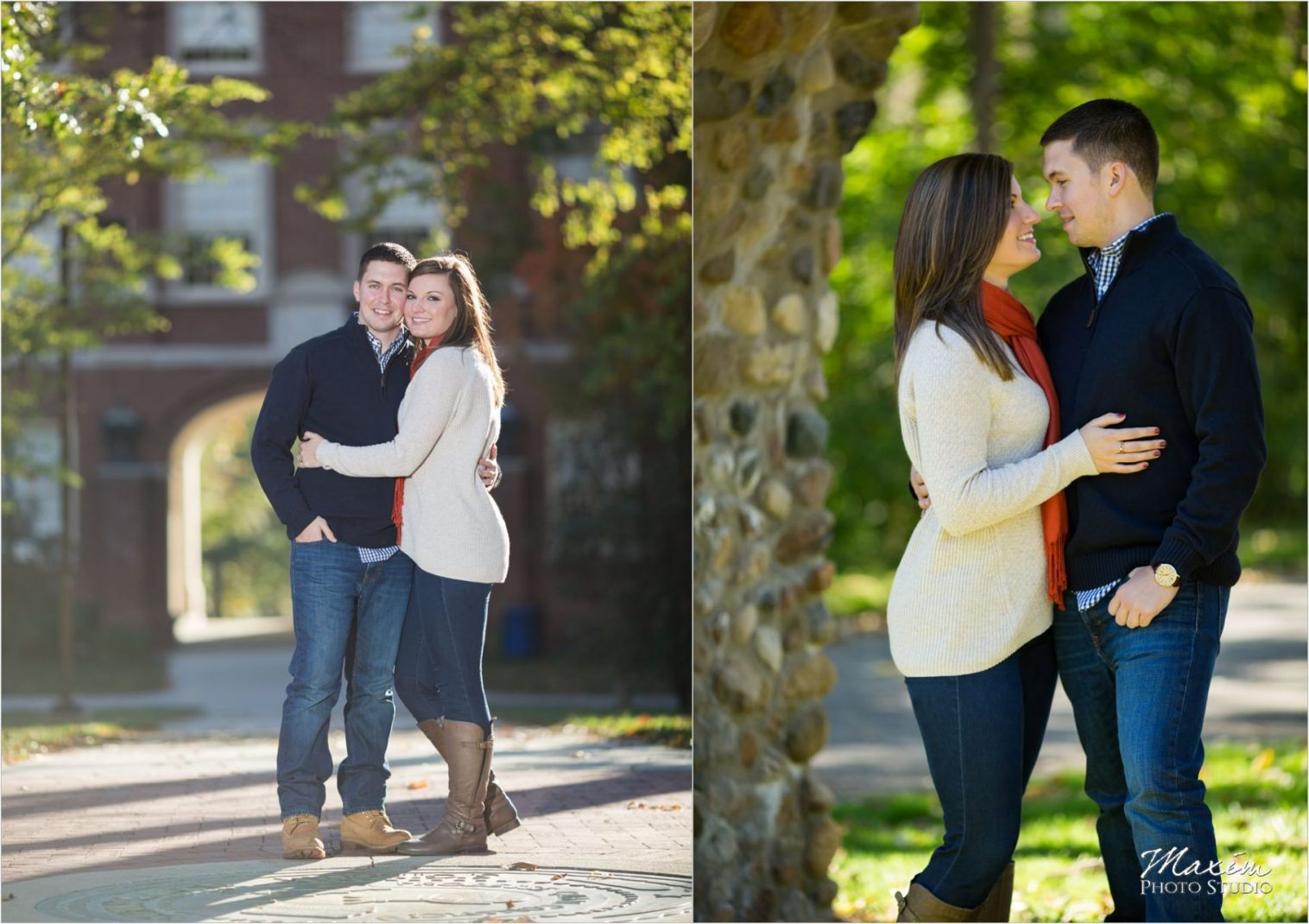 Miami of Ohio University Dayton Wedding Photographers
