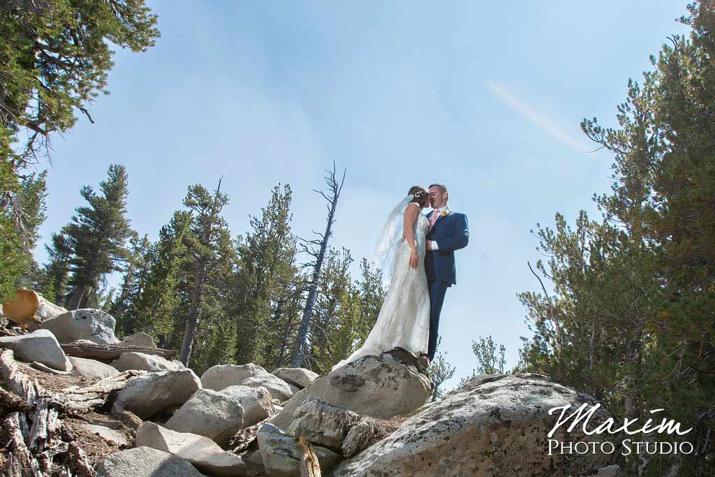 Lake Tahoe Heavenly village wedding Portraits