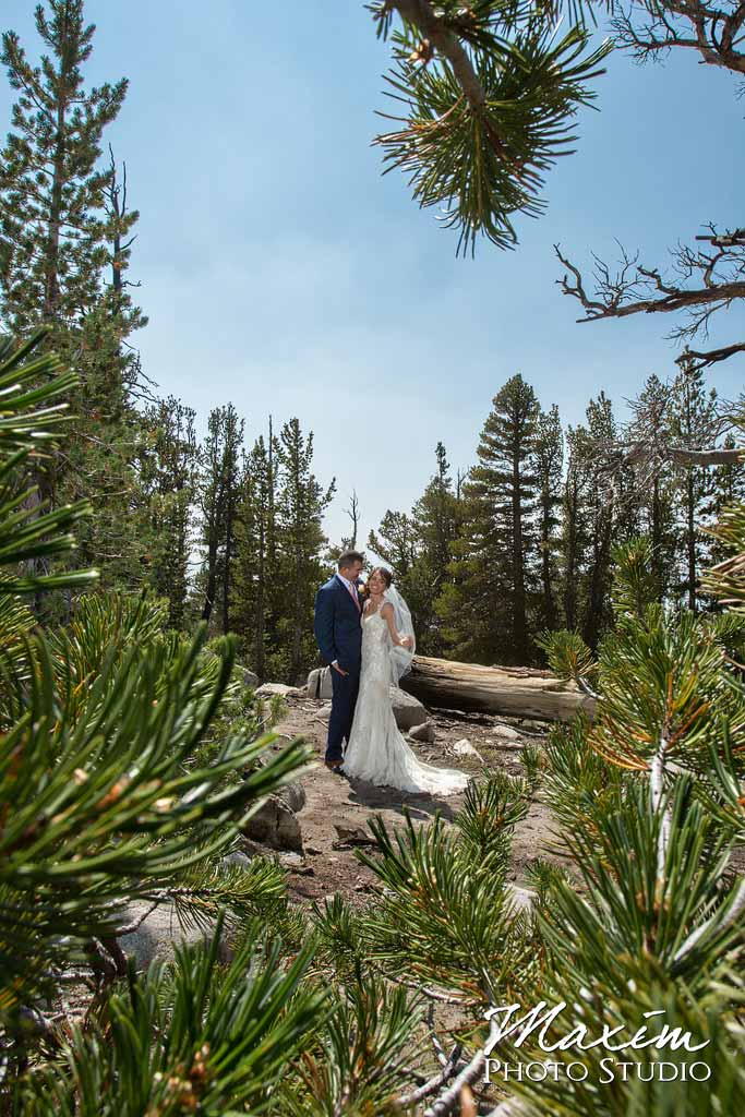 Heavenly Village Lake Tahoe Wedding Bridal Portraits