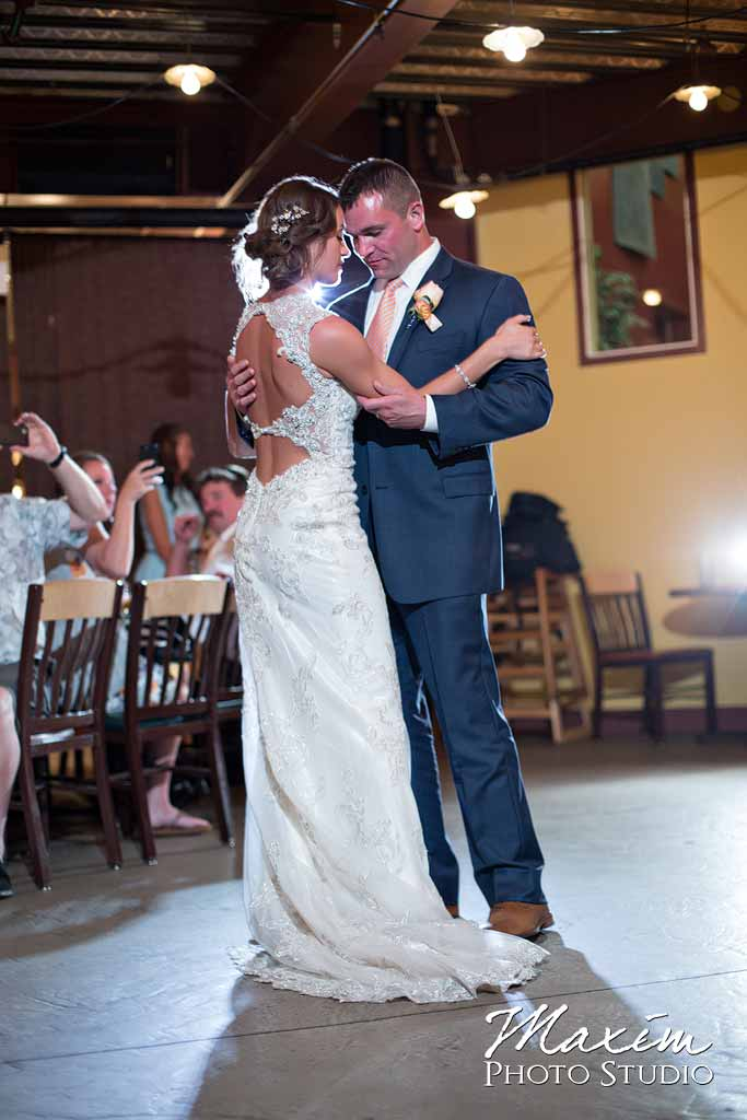 Stateline Brewery Wedding Reception dance