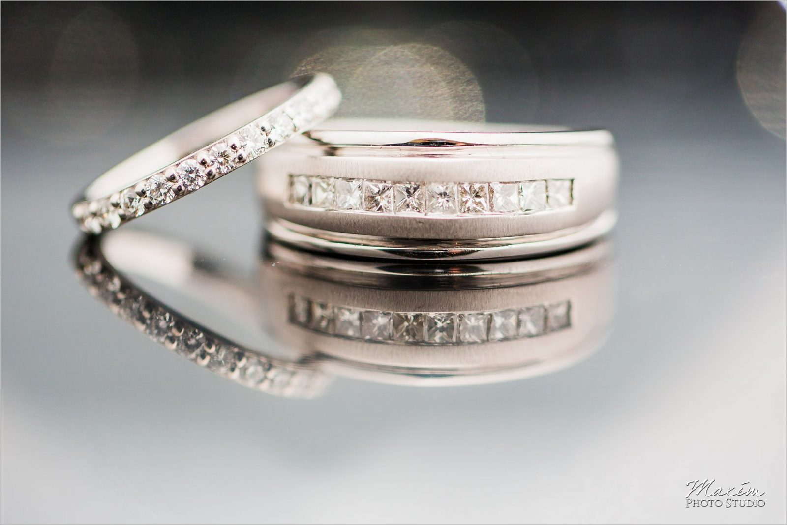 Cincinnati Wedding Photographers 21C Museum Hotel wedding rings
