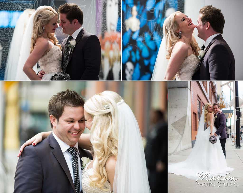 21c museum hotel bride groom