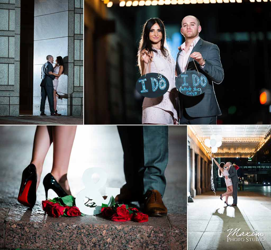 Downtown Cincinnnati Ohio Louboutin shoes Fashion Editorial Engagement