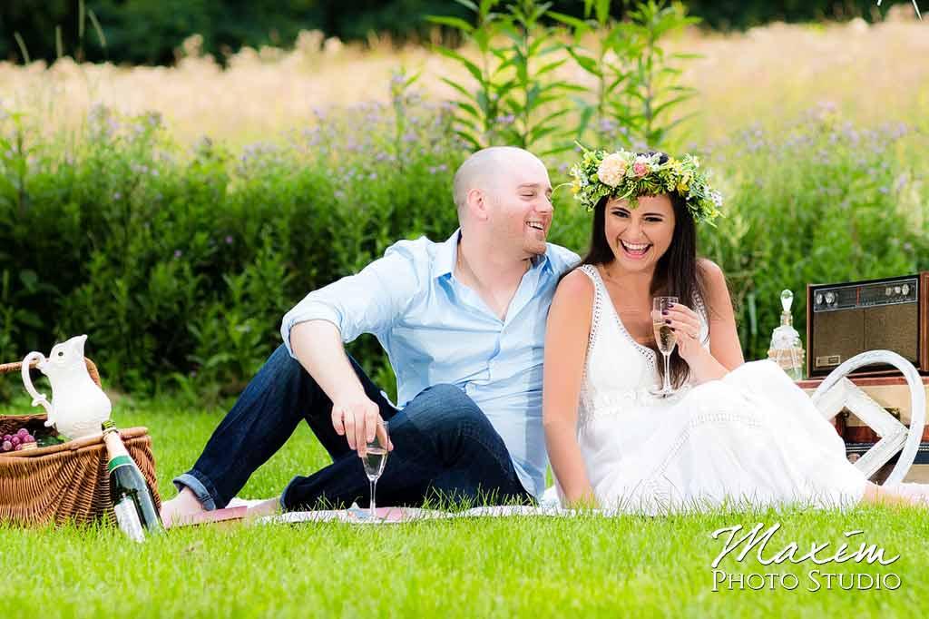 glenwood gardens cincinnati ohio engagement pictures