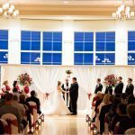 Cooper Creek Event Center Wedding Ceremony Christmas