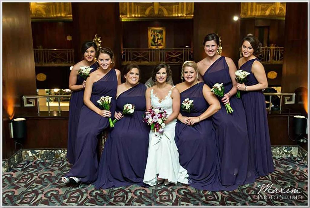 Cincinnati Wedding Photography Hilton Netherland Plaza