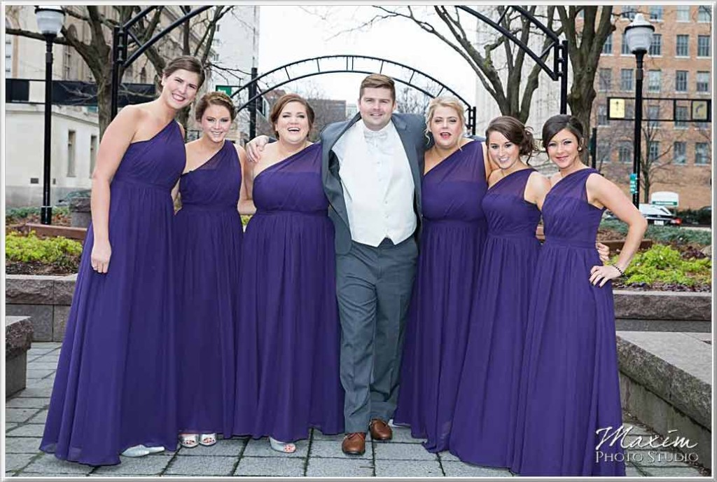 Garfield Park Cincinnati Wedding Groom Portraits