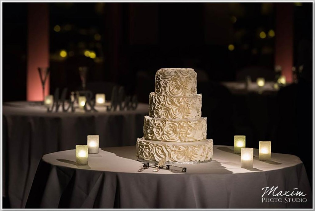 Hilton Netherland Plaza Cincinnati Wedding reception
