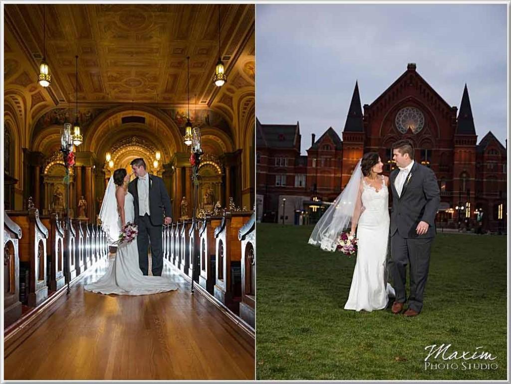 Old St. Mary's Church Cincinnati Wedding Ceremony