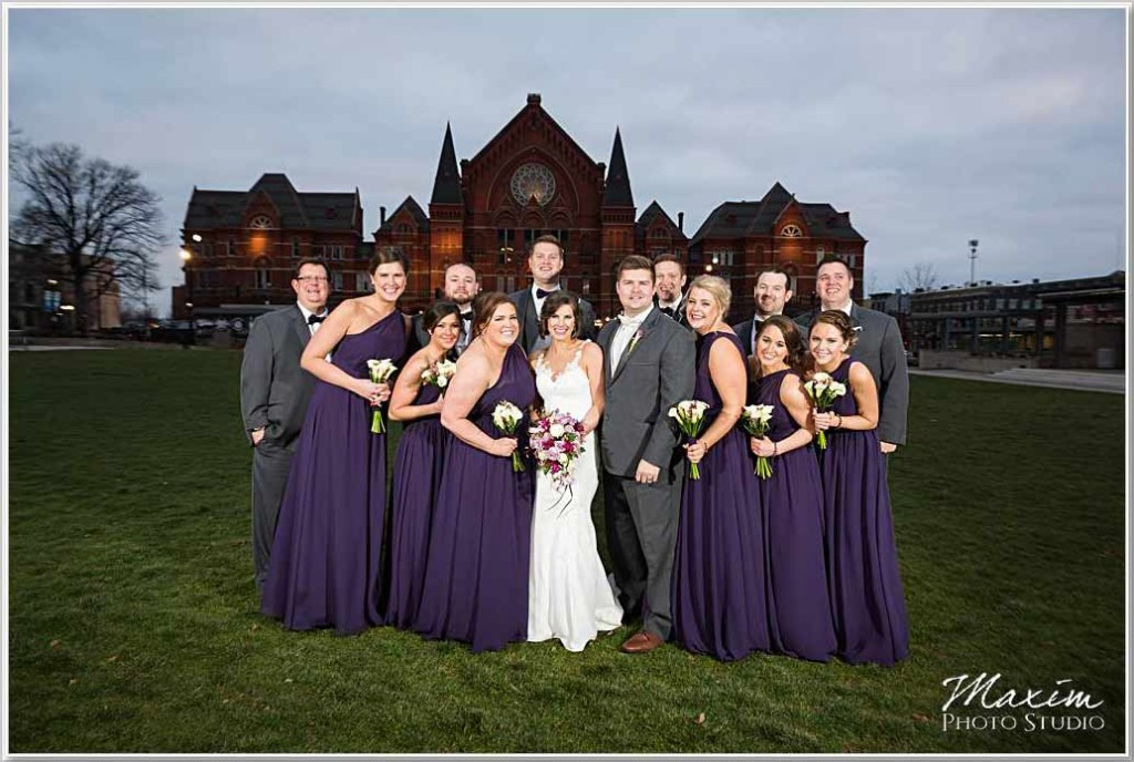 Washington Park Cincinnati Music Hall Wedding