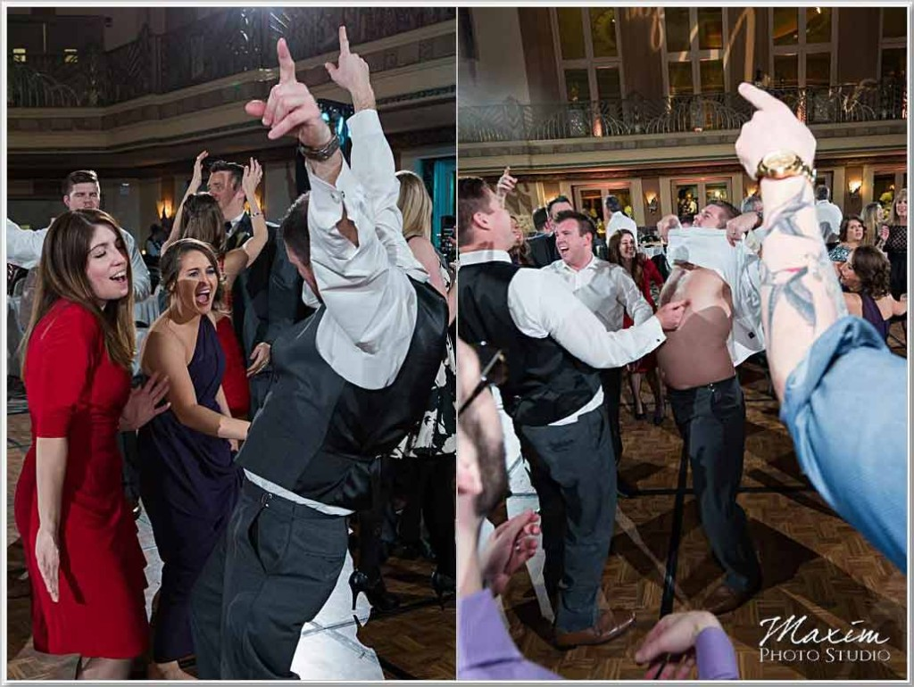 Cincinnati Wedding Photographer Hilton Netherland Plaza wedding reception