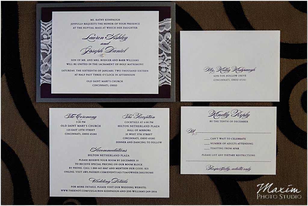 Creative Invites and events wedding invitation