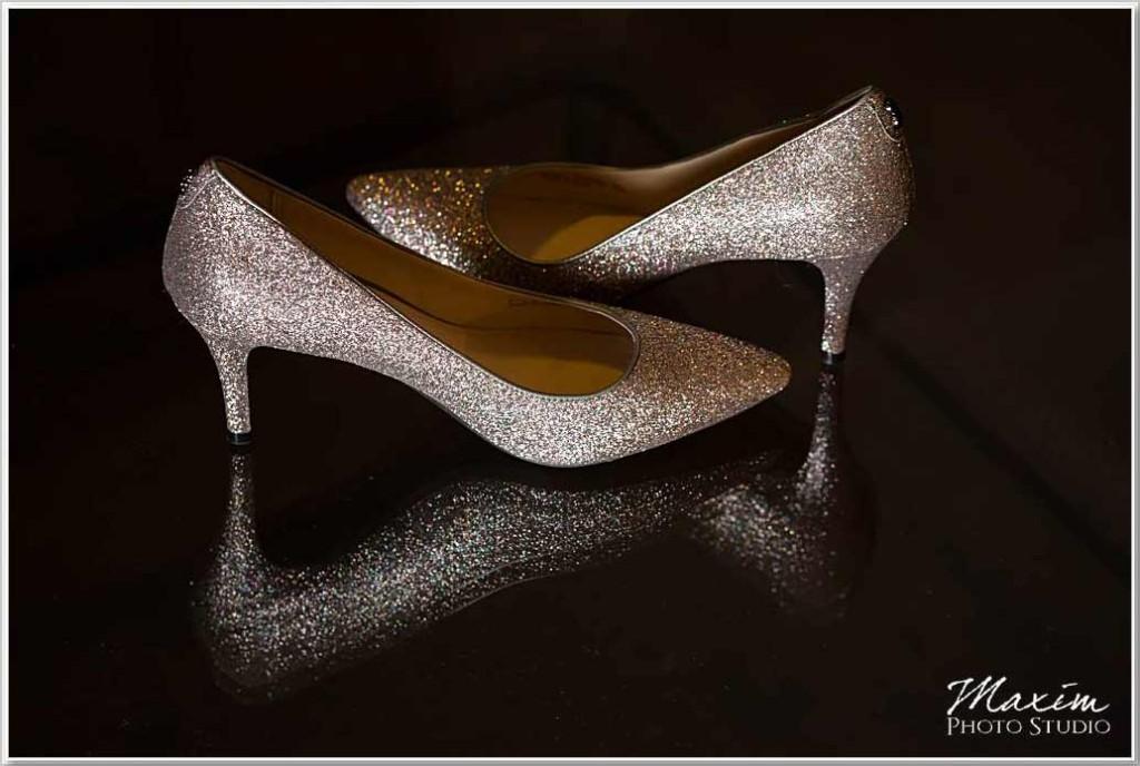 Hilton Netherland Plaza Hotel Wedding shoes