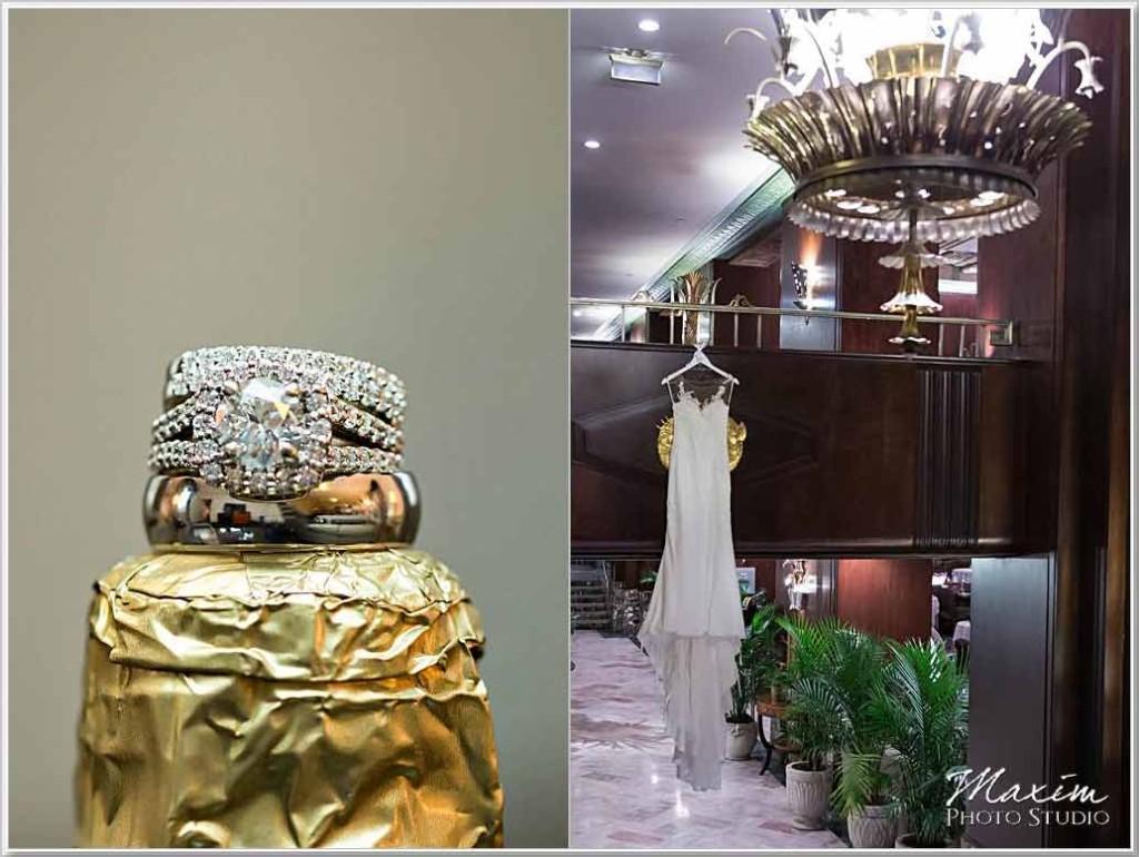 Hilton Netherland Plaza Hotel Wedding rings