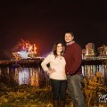 Paul Brown Stadium Night Engagement