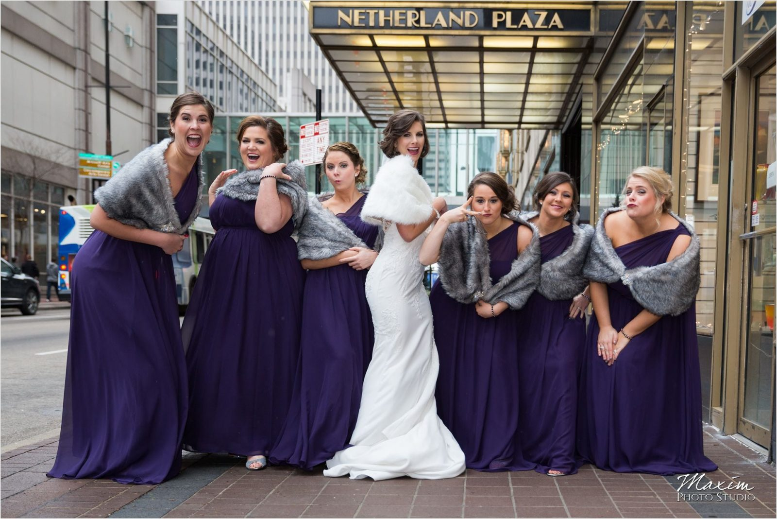 Netherland Plaza Cincinnati Wedding