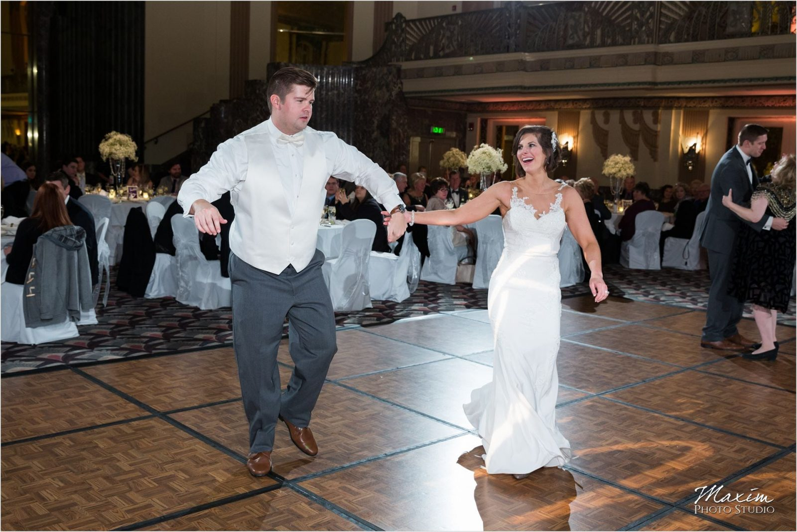 Cincinnati Hilton Netherland Plaza Bride