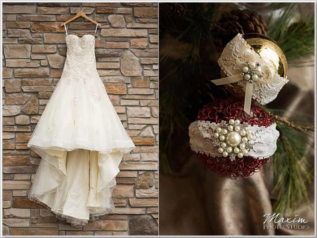 Christmas Cooper Creek Wedding dress