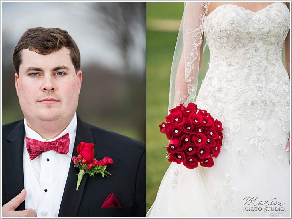Cooper Creek Event Center Bride Groom