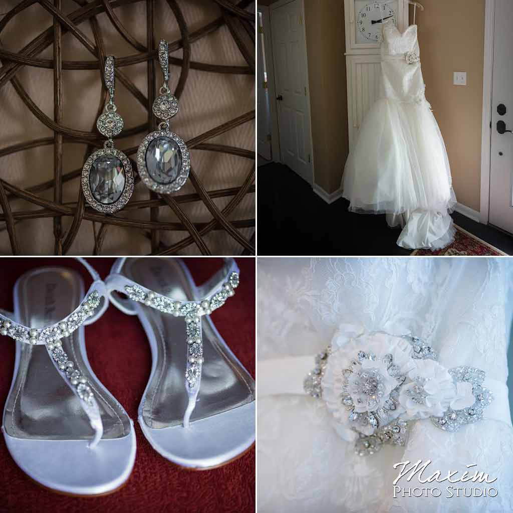 Loveland castle wedding jewelry