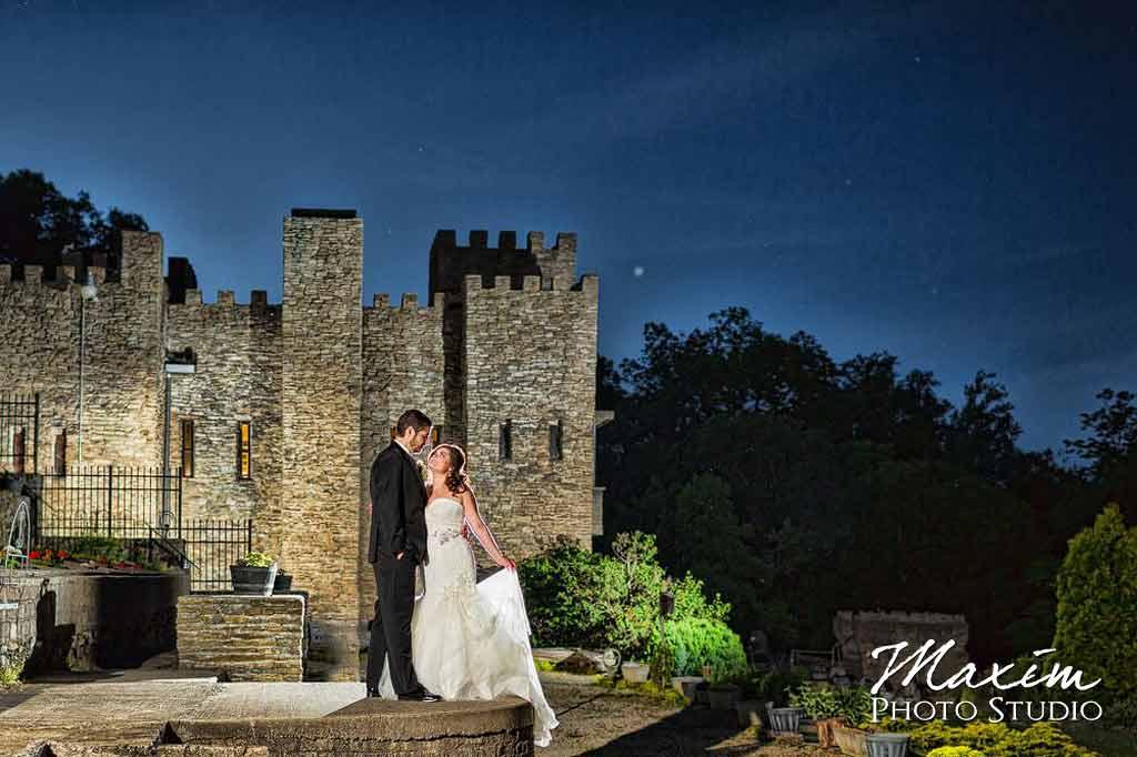 Fairytale ohio castle wedding