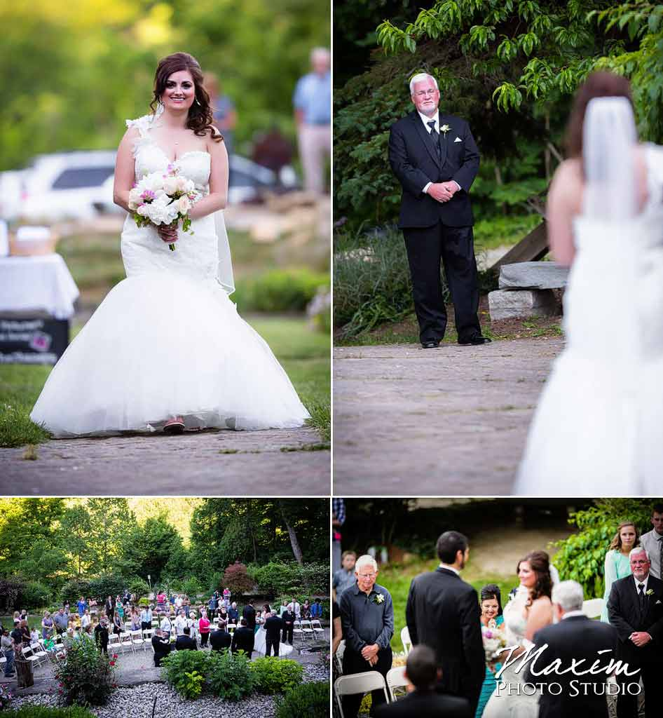 Bride Loveland castle wedding
