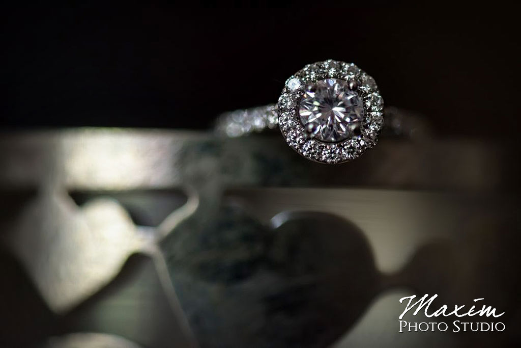 Loveland Castle wedding ring