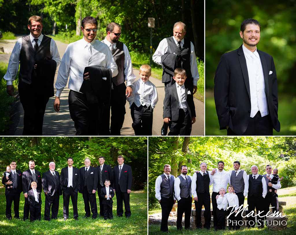 Groom Loveland castle wedding