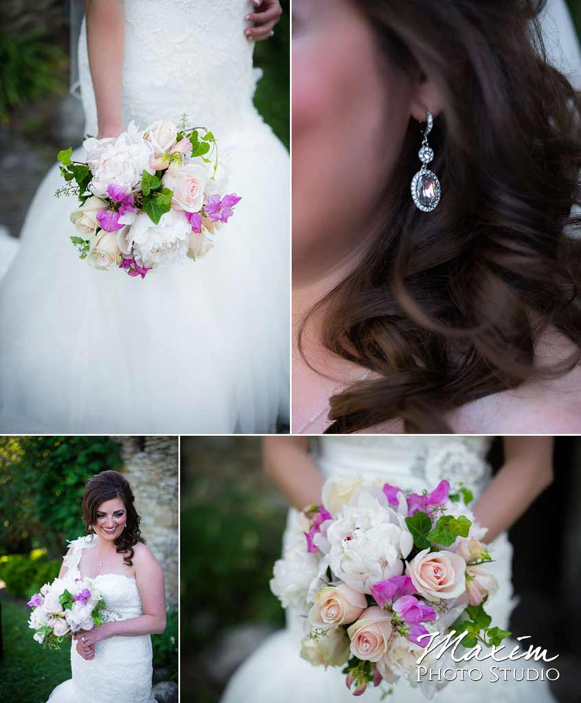 Cincinnati flowers Loveland Castle wedding