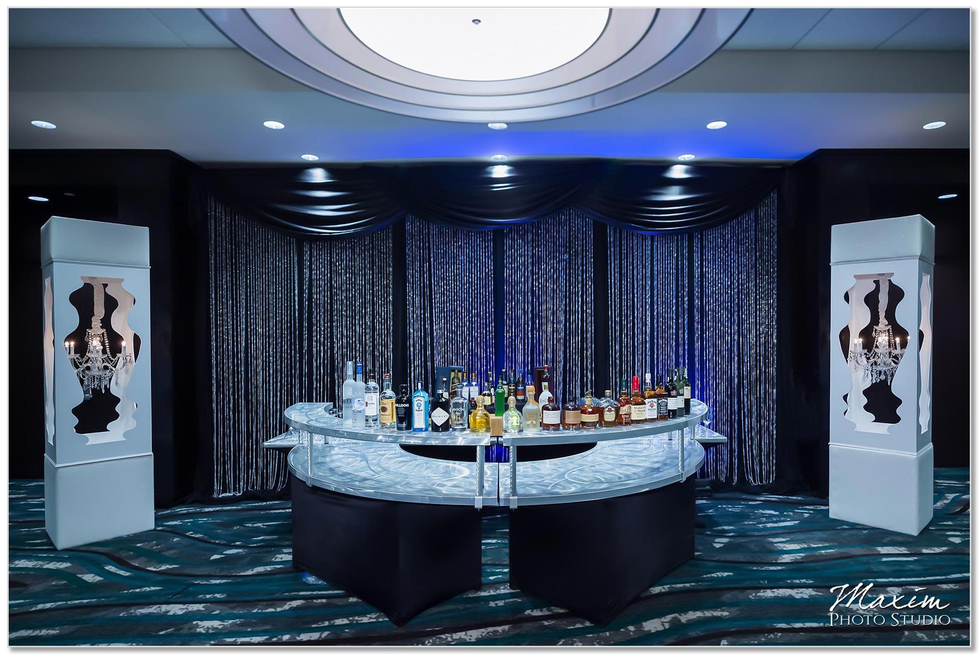 Centre Park West Holiday Inn Wedding Decor reception
