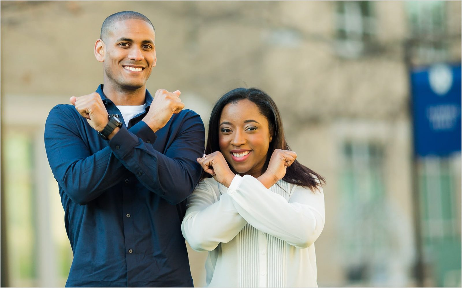 Cincinnati Wedding Photographers Xavier University engagement