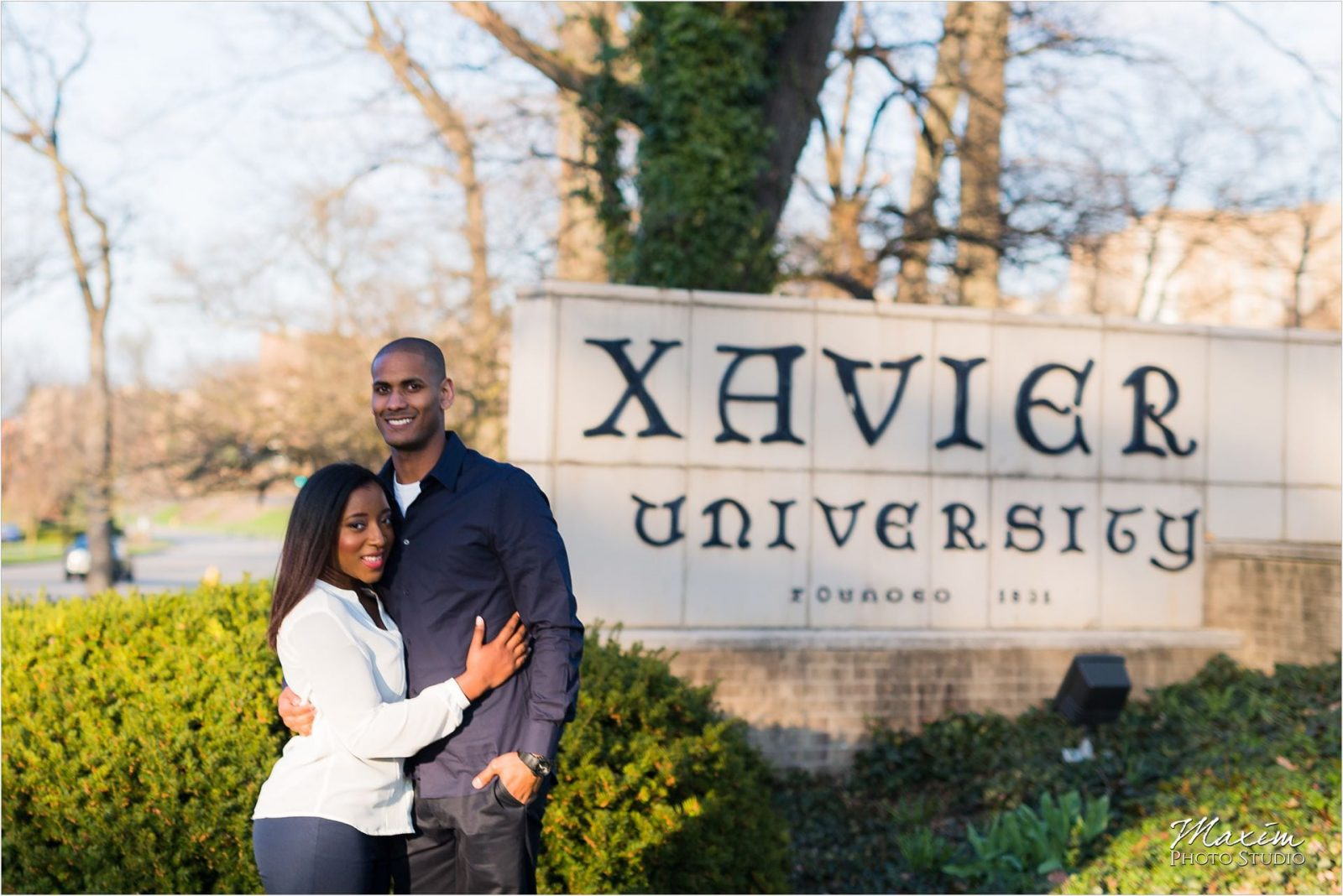 Cincinnati Wedding Photography Xavier University Engagement