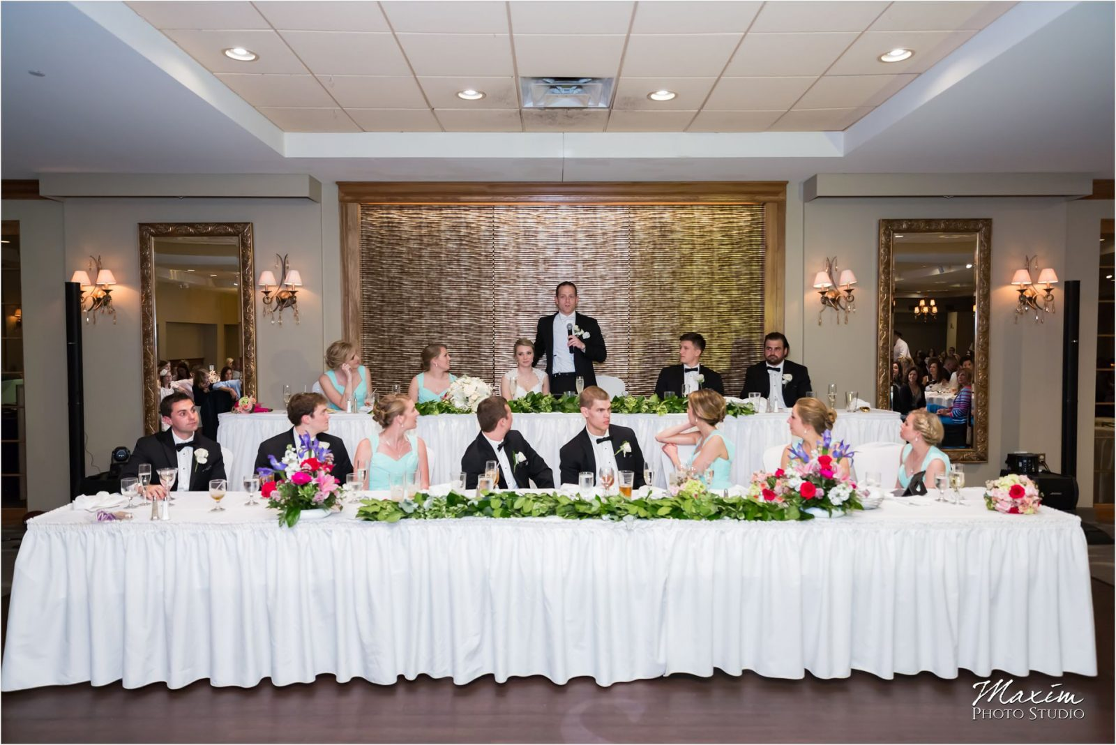 Madison Event Center Covington Kentucky Wedding Reception Toasts