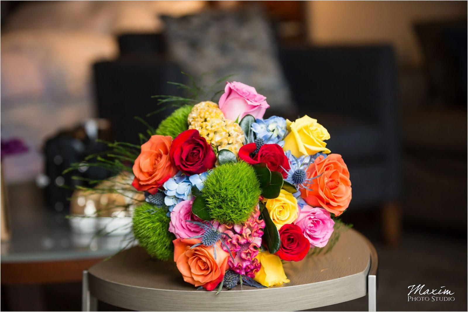 Contemporary Art Center Cincinnati Wedding Flowers