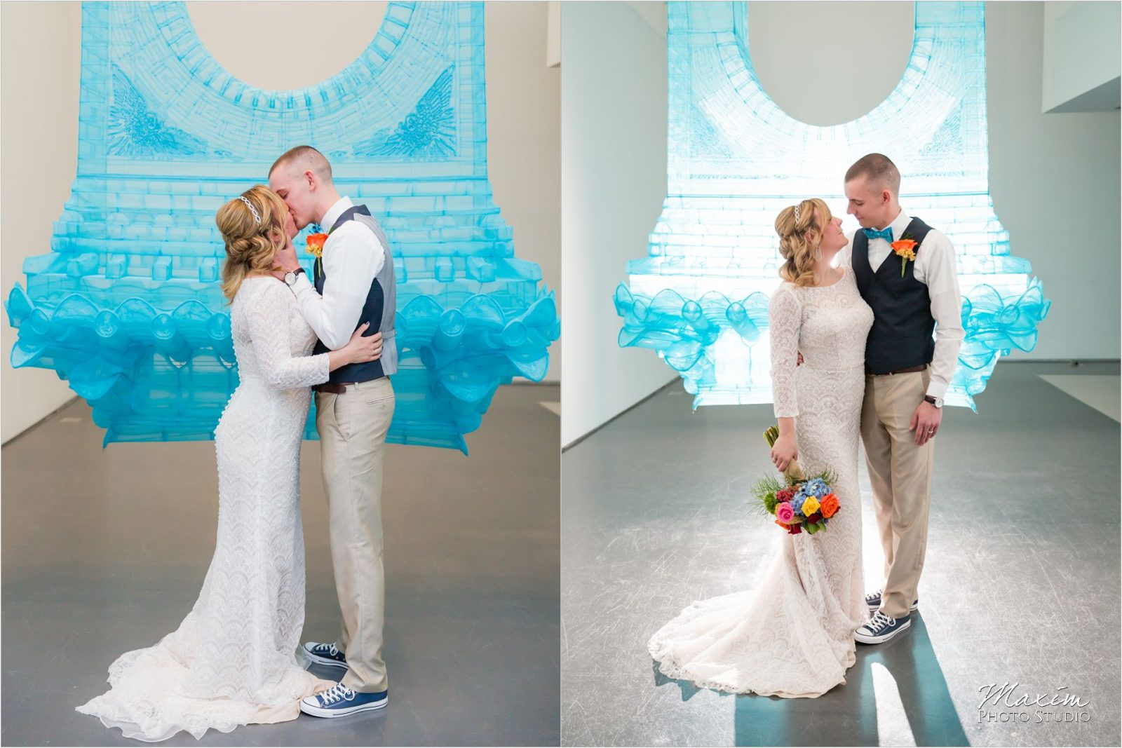 Contemporary Art Center Cincinnati Wedding Ceremony