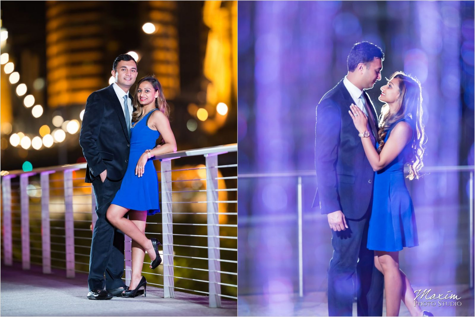 Roebling Bridge Smale Riverfront Park Engagement