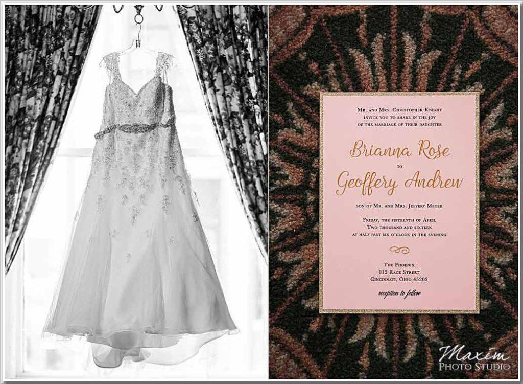 The Phoenix Cincinnati Wedding Dress