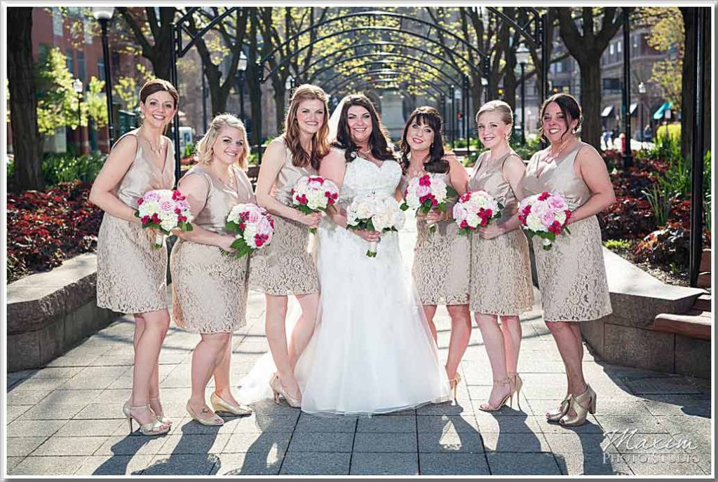 The Phoenix Bridal Party Piatt Park Wedding