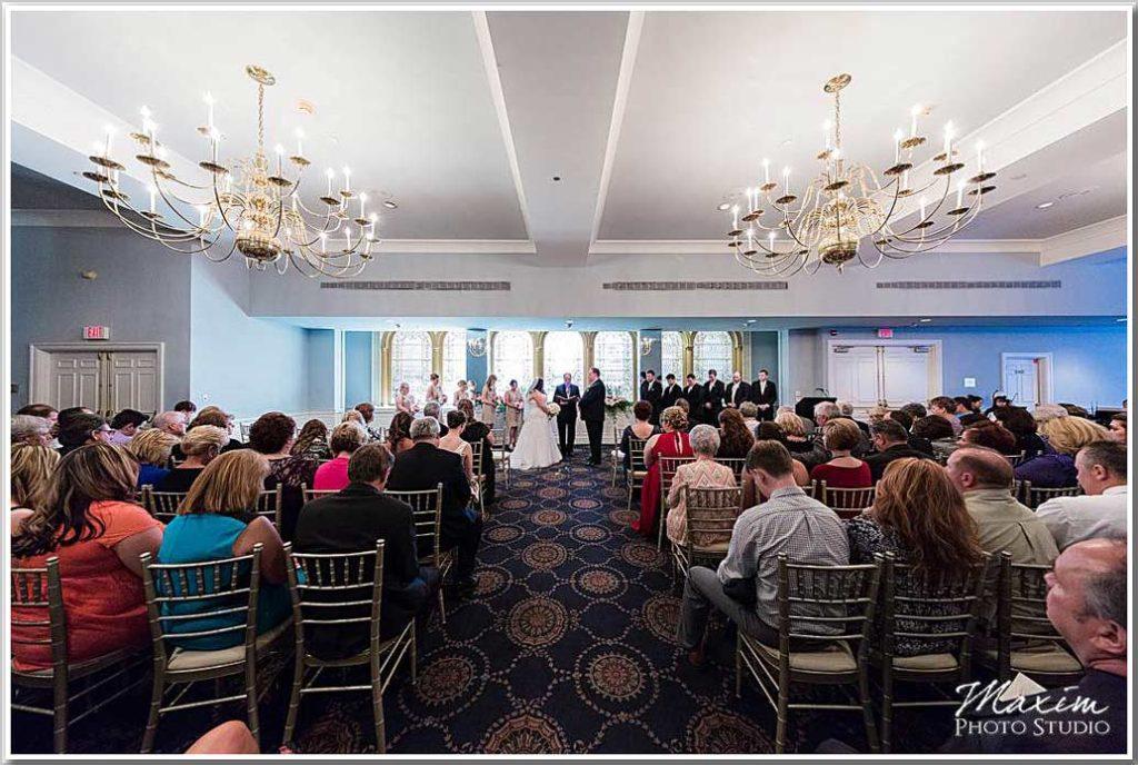 The Phoenix Cincinnati Wedding Archway Ballroom