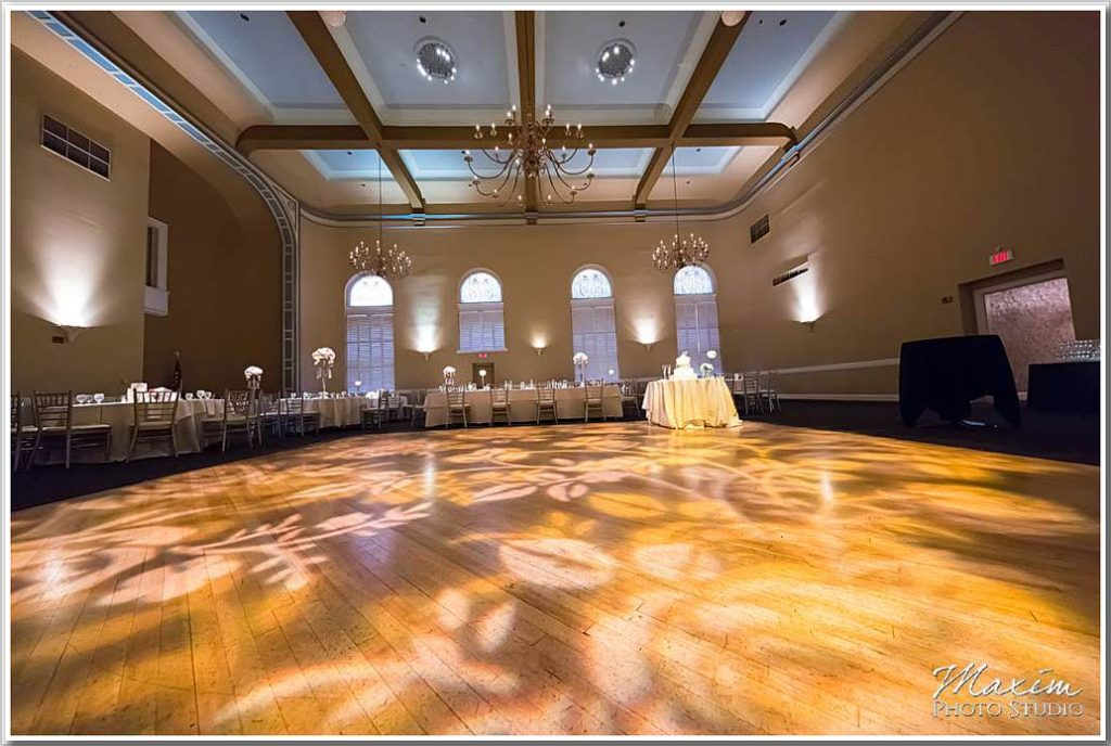 The Phoenix Cincinnati Wedding Reception Grand Ballroom