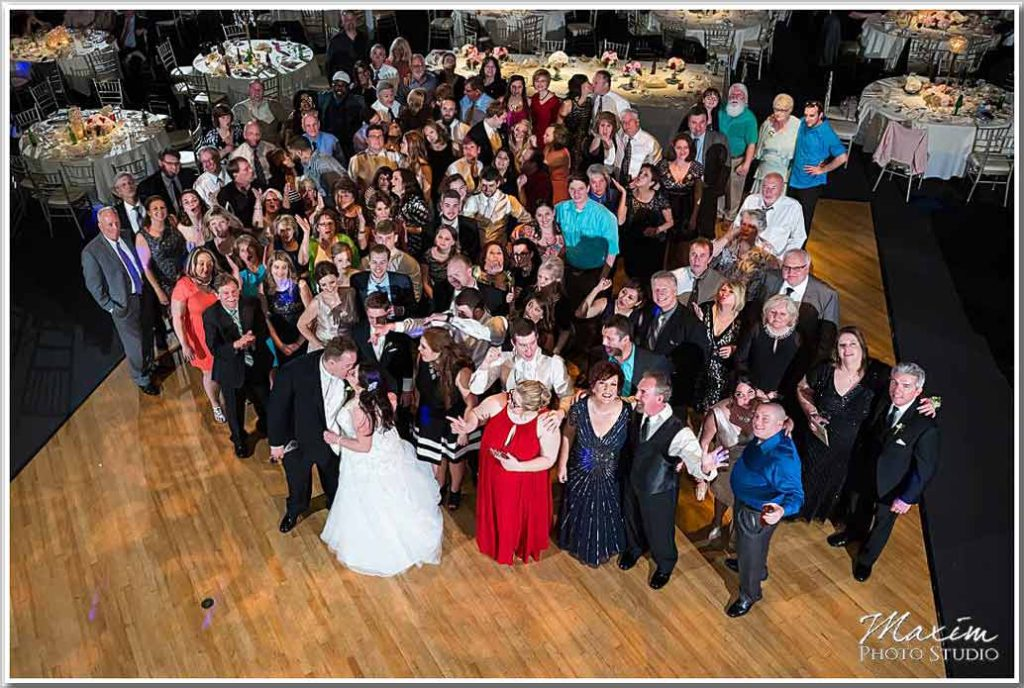 The Phoenix Cincinnati Wedding Group Photo