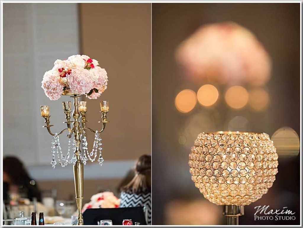 The Phoenix Cincinnati Wedding decor