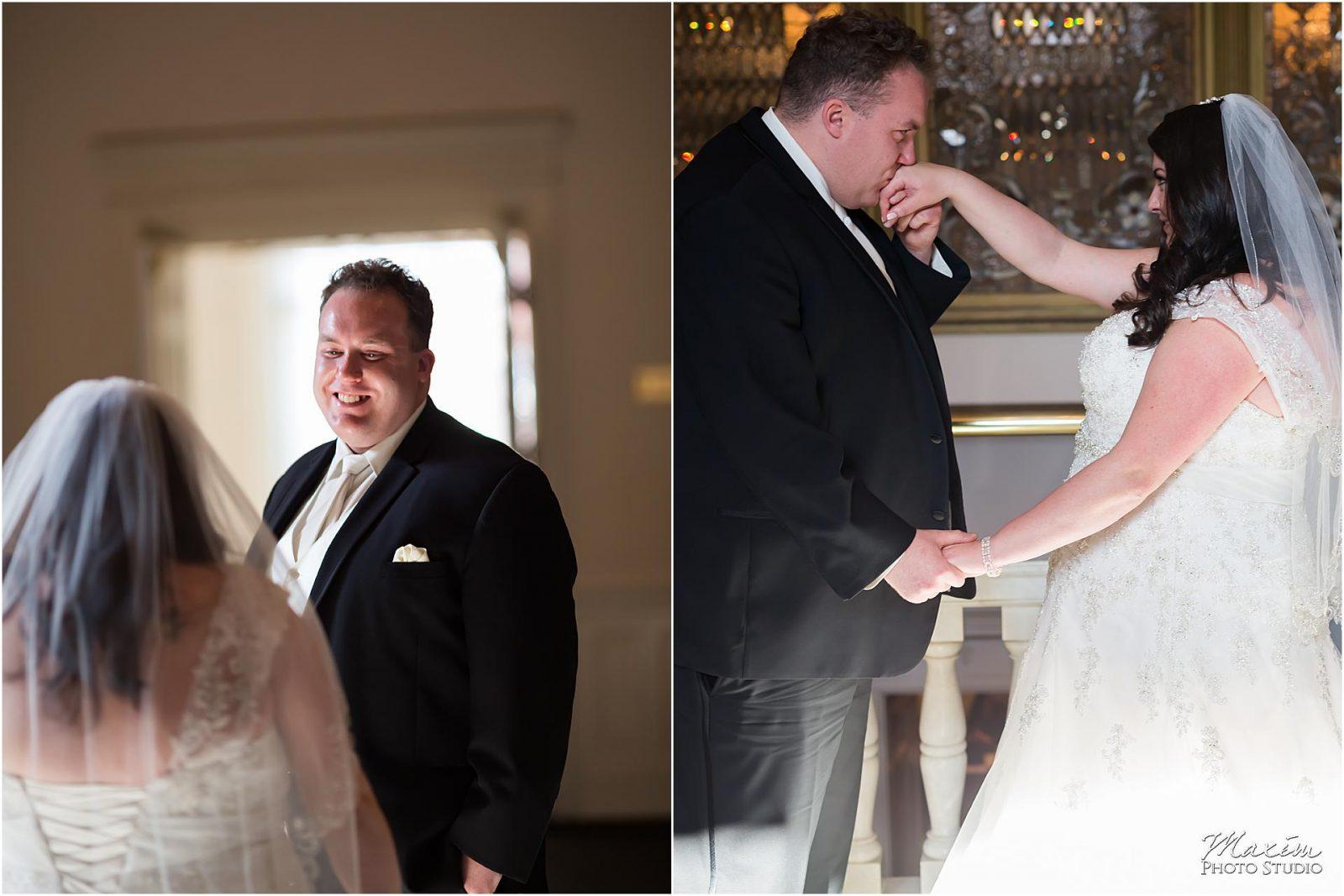 The Phoenix Cincinnati Wedding, First Look