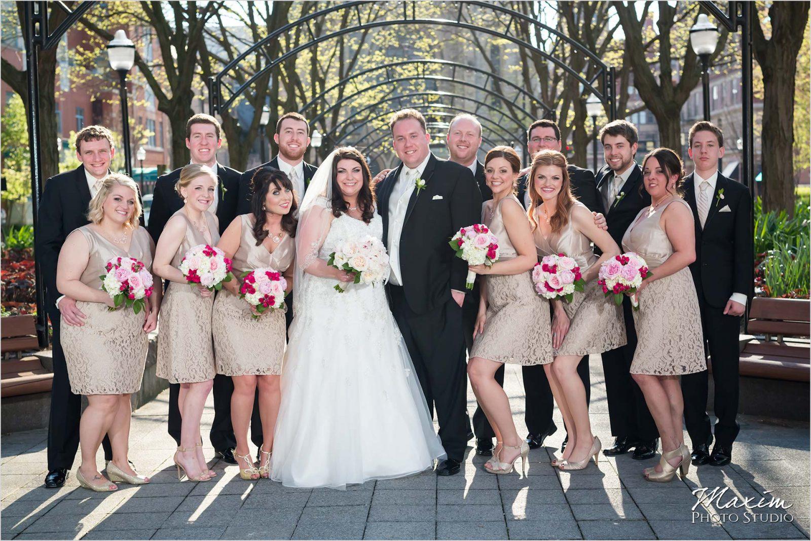 The Phoenix Cincinnati Wedding, Garfield Park, Cincinnati Bride Groom