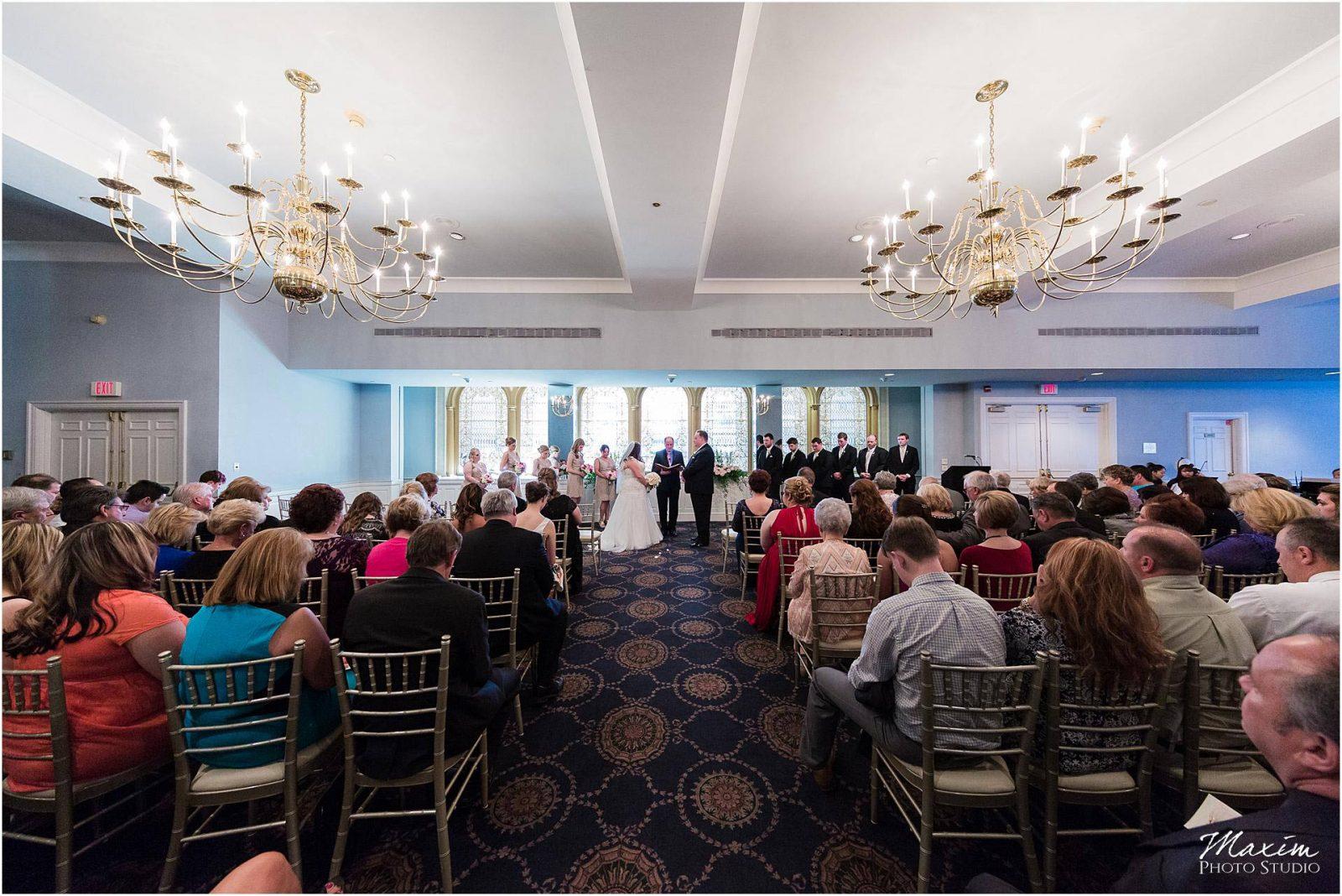 The Phoenix Cincinnati Wedding, Wedding Ceremony