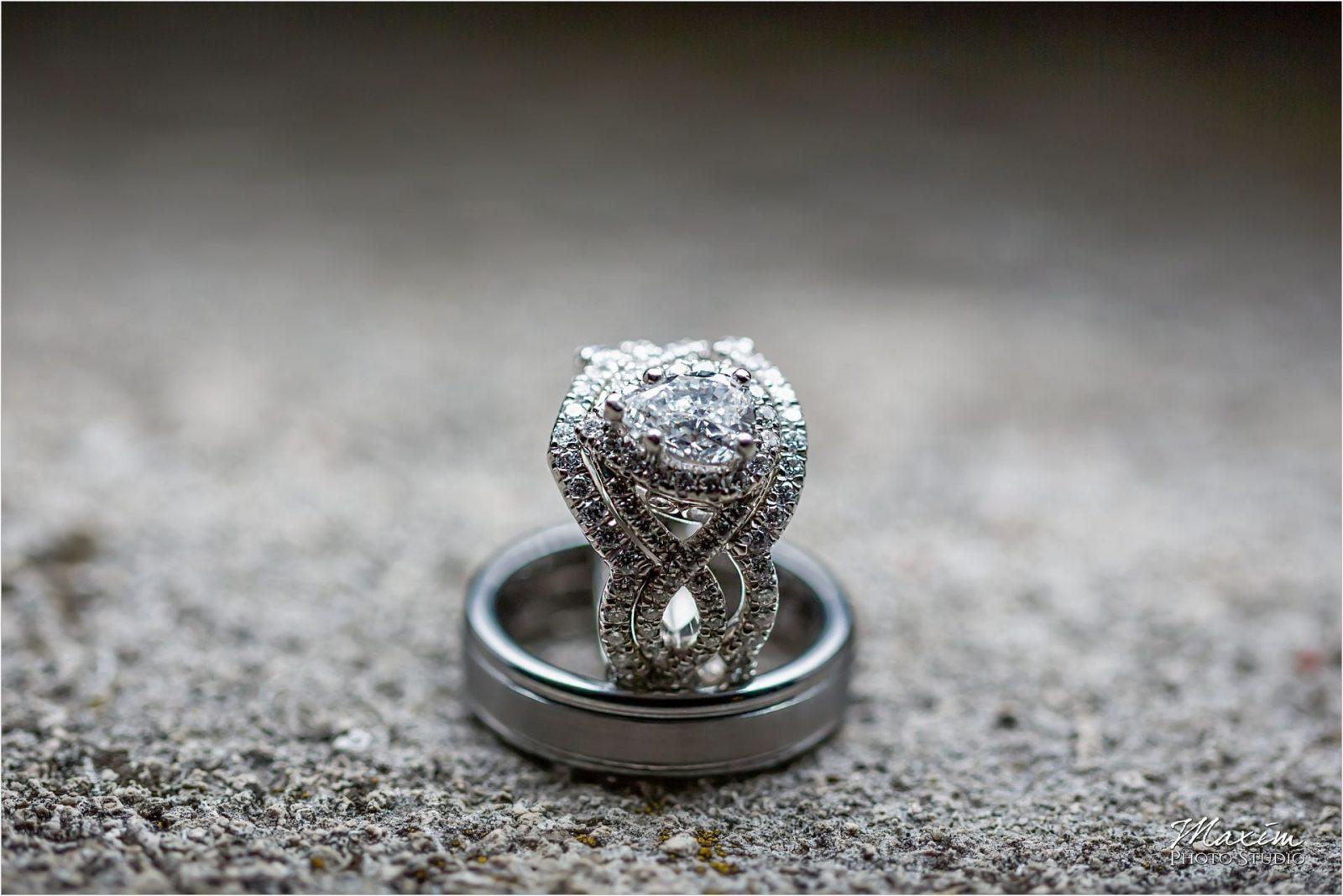 Ault Park Cincinnati Wedding Reception ring