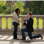 Ault Park Cincinnati Secret Engagement Proposal