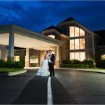Cooper Creek Wedding Photography Sunset bride groom