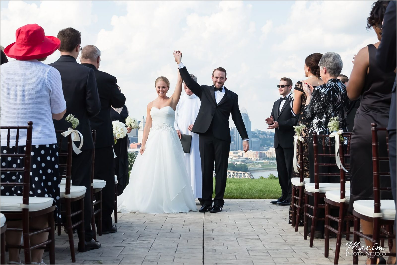 Drees Pavilion Covington Kentucky Wedding Ceremony