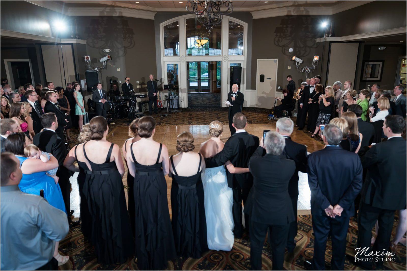 Drees Pavilion Covington Kentucky Wedding Reception Toasts
